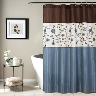 Lush Decor Royal Garden Shower Curtain