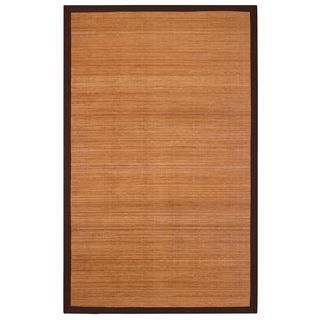 Jani Villager Brown and Natural Bamboo Rug (2' x 3')