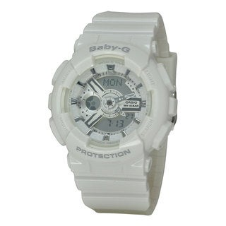 Casio Women's BA110-7A3 Baby-G White Watch