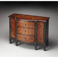 Butler Sheffield Brown MDF/Veneer/Wood Console Cabinet