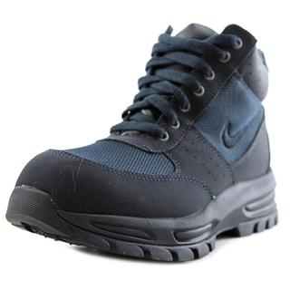 Nike Boy's Go Away (GS) Black and Blue Synthetic Athletic Shoes