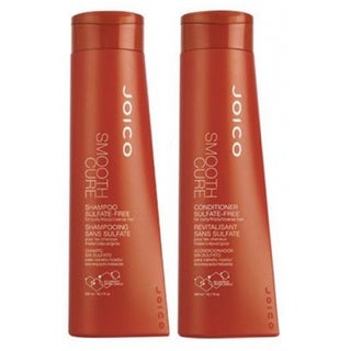 Joico Smooth Cure Sulfate Free 10-ounce Shampoo and Conditioner Duo