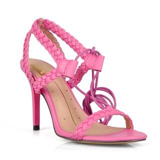 Fahrenheit Women's Alva-01 Heel Sandals