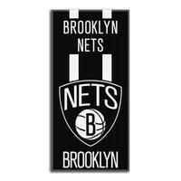 NBA 620 Brooklyn Nets Zone Read Beach Towel