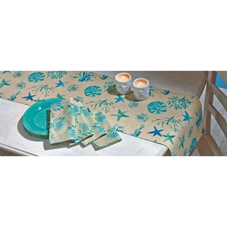 TAG Aqua Sea Shell Napkin (Set of 4)