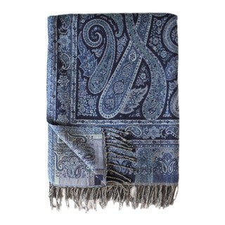 Paisley Wool Blend 50x70 Throw