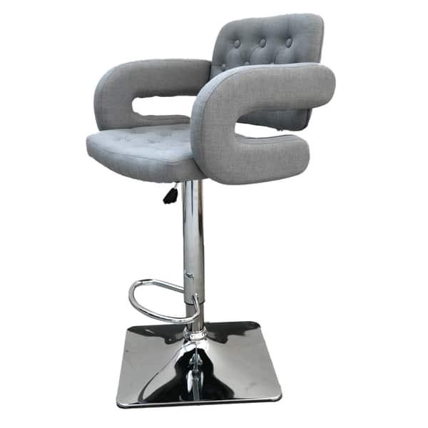 Incredible Porch Den Atchafalaya Fabric Adjustable Swivel Bar Stool Bralicious Painted Fabric Chair Ideas Braliciousco