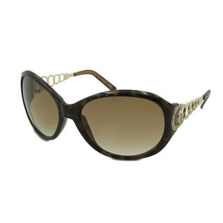 Guess Women's GU6510 Oval Sunglasses