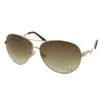 Guess Women's GU7021 Aviator Sunglasses