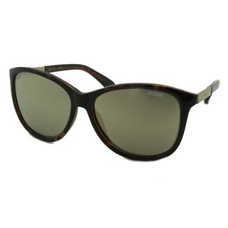 Guess Women's GU7389 Rectangular Sunglasses