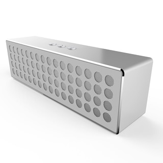 Mpow Mbox Powerful Crystal-clear Sound Portable Wireless Bluetooth 4.0 White Stereo Speaker for iPhone and Other Devices