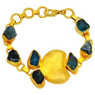 Orchid Jewelry Gold Overlay 80ct TGW Genuine Appetite Fahsion Bracelet