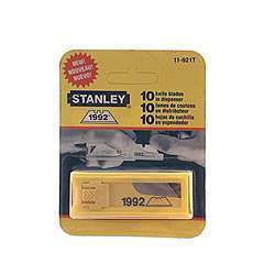 Stanley Hand Tools 11-921T 10 Pack Utilitity Knife Blades And Dispenser
