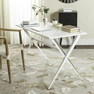 Safavieh Mid-Century Modern Chapman White Desk|https://ak1.ostkcdn.com/images/products/12076502/P18942999.jpg?impolicy=medium