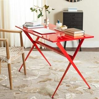 Safavieh Mid-Century Modern Chapman Red Desk