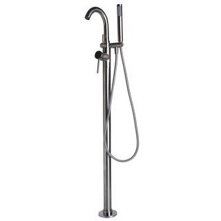 Alfi Brand AB2534-BN Brushed Nickel Brass Tub Filler Mixer