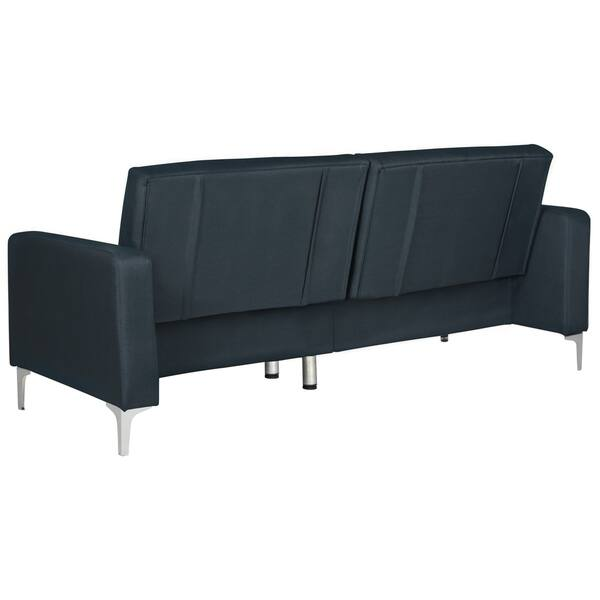 Swell Shop Safavieh Soho Two In One Foldable Navy Loveseat Sofa Gmtry Best Dining Table And Chair Ideas Images Gmtryco