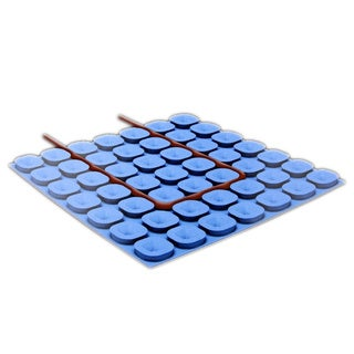 WarmlyYours 162 sq. ft. Prodeso Uncoupling Membrane Roll, for Installing Electric Floor Heating Cable
