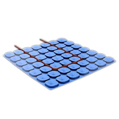 WarmlyYours 54 sq. ft. Prodeso Uncoupling Membrane Roll, for Installing Electric Floor Heating Cable