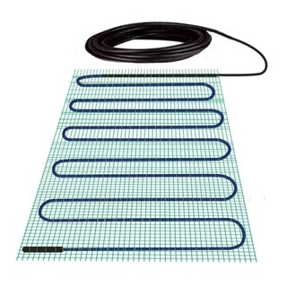 WarmlyYours 2.6 Sq.ft 120 Volts Electric Floor Heating Shower Bench Mat