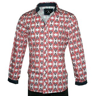 Men's 'Flys in a Jar' Long Sleeve Fashion Button Up Shirt by Rock Roll n Soul