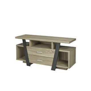 60 Inch TV Stand with Two (2) Storage Drawers
