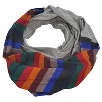 Moda Women's Mult-color Viscose Infinity Scarf