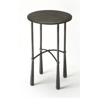 Handmade Butler Bastion Industrial Chic End Table (India)