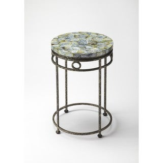 Butler Sadye Fossil Stone Accent Table