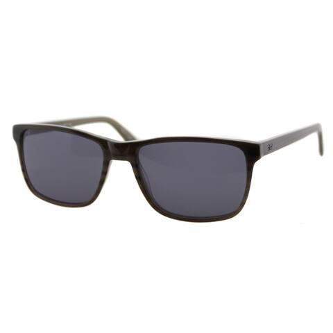 Cynthia Rowley Eyewear Sun Grey Striation Plastic Rectangle Sunglasses