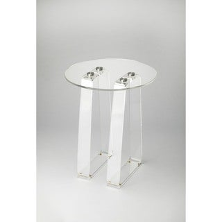 Butler Blanca Clear Acrylic Side Table