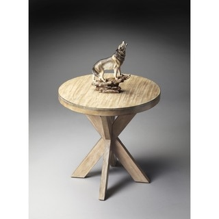 Butler Driftwood Accent Table