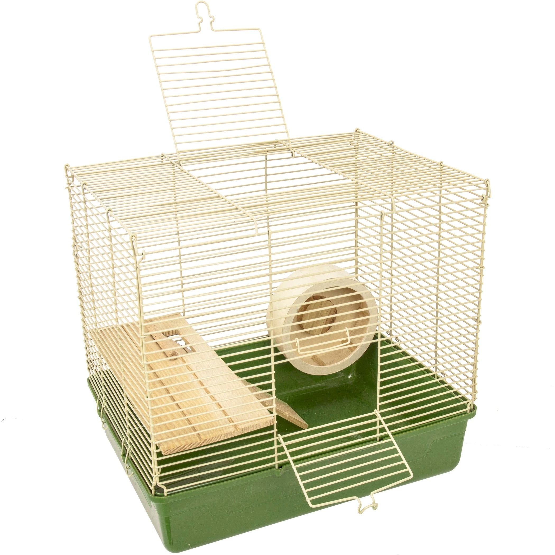 Ware Naturals Wire and Wood 16-inch Hamster Cage and Kit ...
