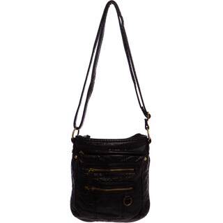 Ampere Creations The Willa Vegan Faux-leather Crossbody Handbag