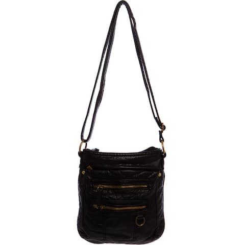 Ampere Creations The Willa Vegan Faux-leather Crossbody Handbag