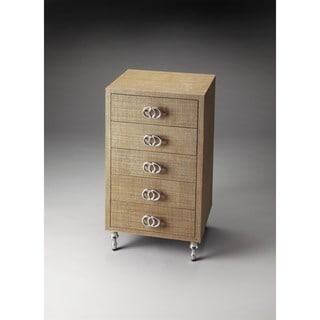 Butler Lara Raffia Accent Chest