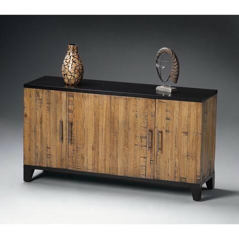 Butler Modern Wooden Rectangular Chest in Designers Edge Finish - Multicolor