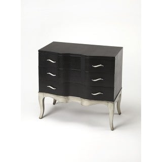 Butler Fleurot Leather Console Chest