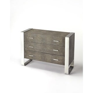 Butler Cavallo Modern Leather Console Chest