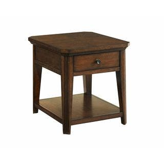Broyhill Attic Heirlooms Brown Wood End Table Free