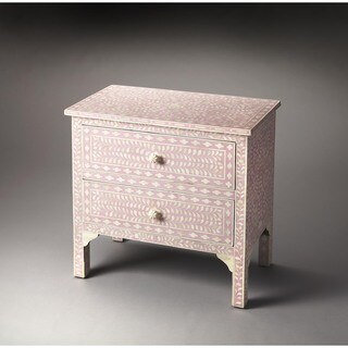 Butler Vivienne Pink Bone Inlay Accent Chest