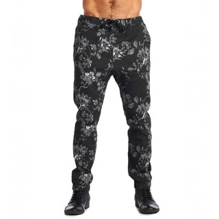 Men's Dirty Robbers Floral Design Joggers