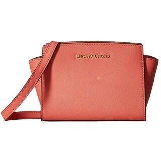 Michael Kors Selma Pink Grapefruit Mini Crossbody Handbag