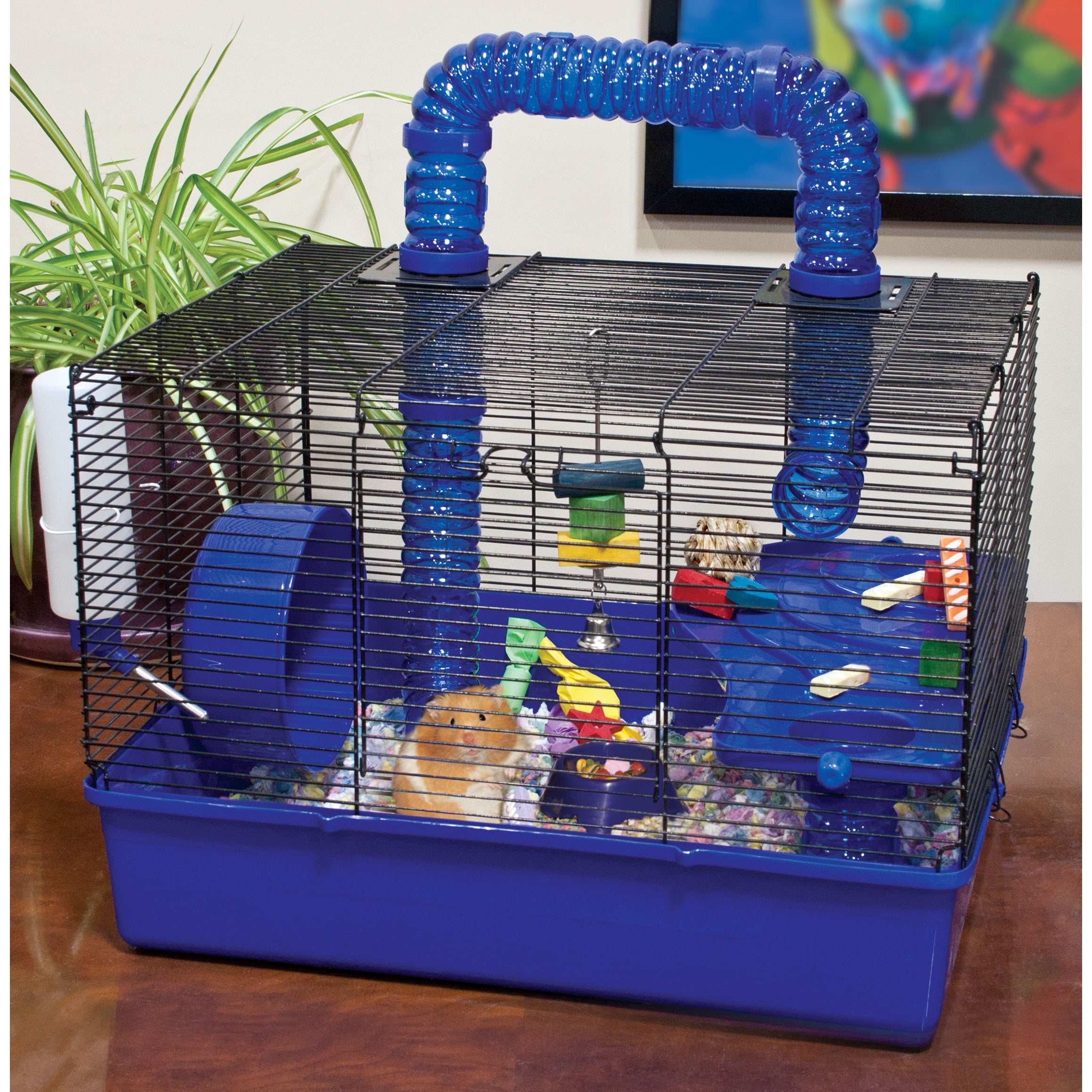 """Ware Tube Time 20-inch Hamster Cage (20""""), Red rust"""