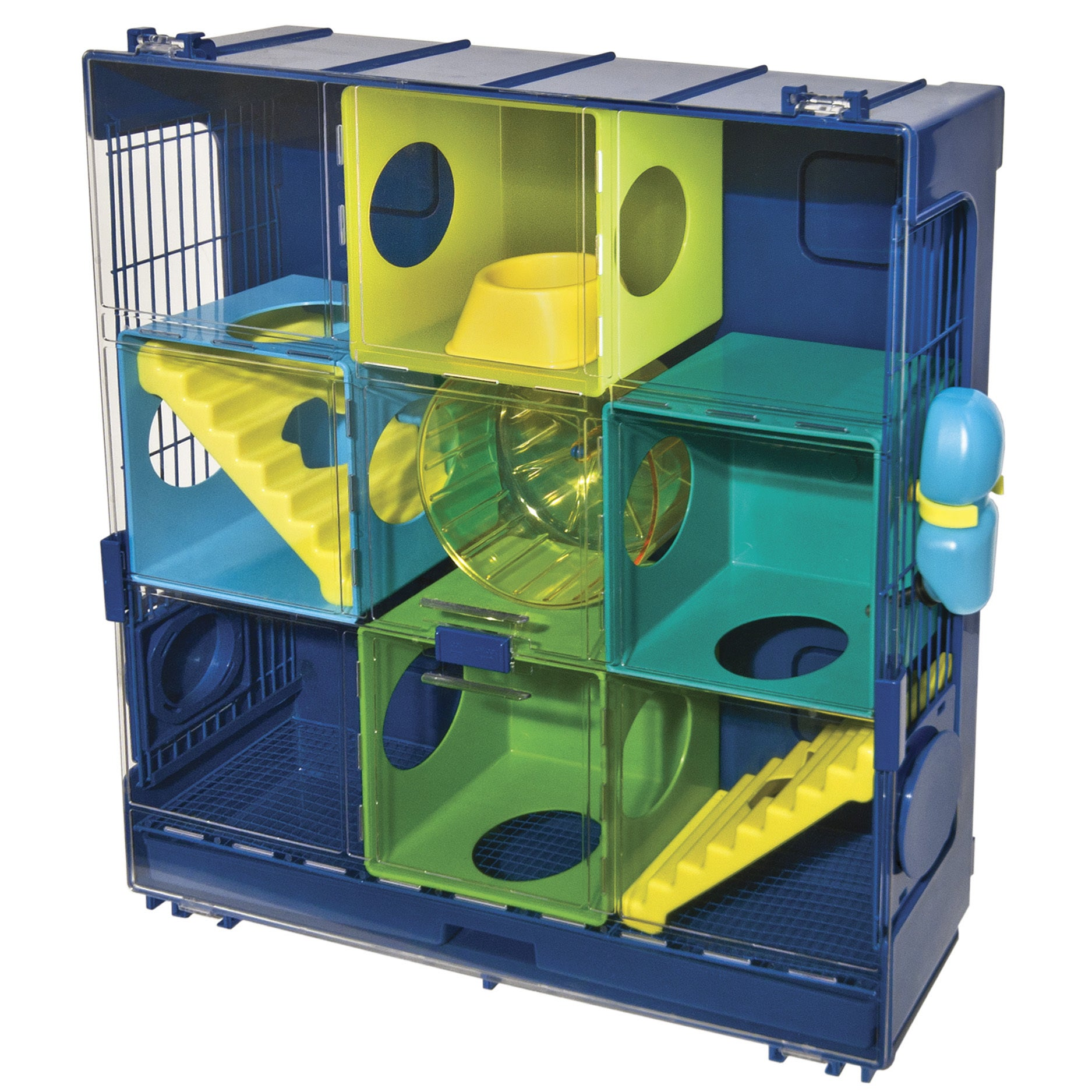 Ware Critter Universe Wall Hamster Cage (Blue)