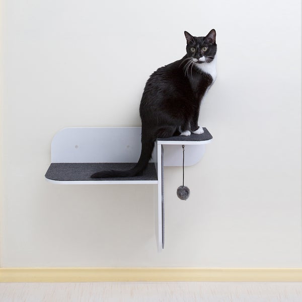 Shop Hauspanther Wall Mounted Cat Step Perch And Scratcher