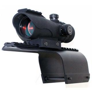 Trinity Black Aluminum 1x30 Tactical Compact Red CQB Reticle Reflex Sight With Mount for 12-gauge Benelli Nova/Super Nova