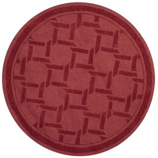 Martha Stewart by Safavieh Resort Weave Sealing Wax Wool Rug (8' Round)