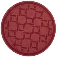 Martha Stewart by Safavieh Resort Weave Sealing Wax Wool Rug - 8' Round