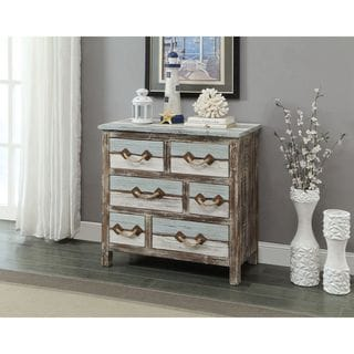 Somette Six Drawer Chest, Islander Multicolor - 6 Drawer